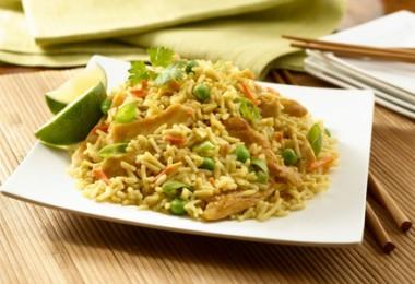 Диета рис, курица, овощи