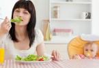 Диета для похудения кормящих мам
