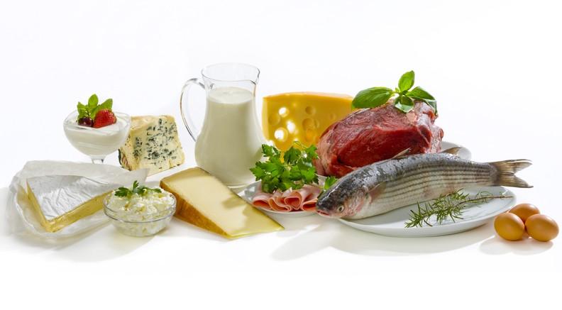 простое питание для похудения меню