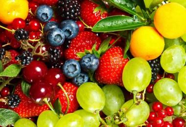 Таблицы калорийности фруктов, ягод и заготовок