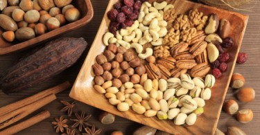 Таблица калорийности орехов и семян