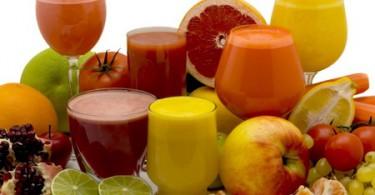 Таблица калорийности напитков, воды, соков