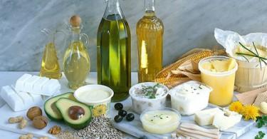 Таблица калорийности жиров, масел