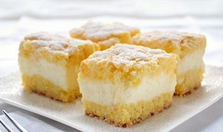 Творожный пирог рецепт в домашних условиях воздушный