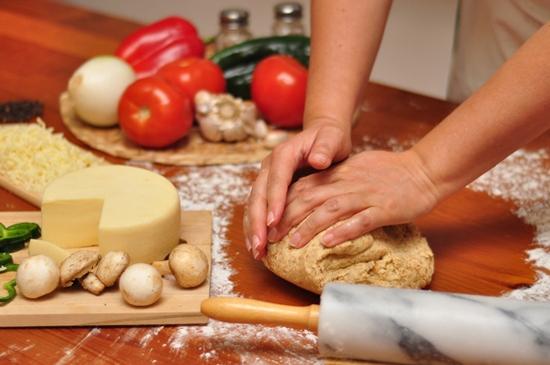 Бездрожжевое тесто с уксусом