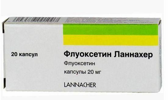 Флуоксетин ланнахер для похудения