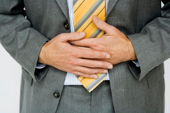 Симптомы спазма мышц в животе