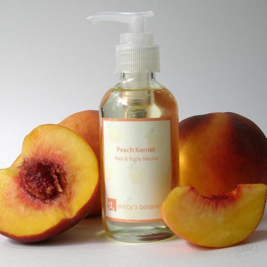 Персиковое масло для снятия макияжа
