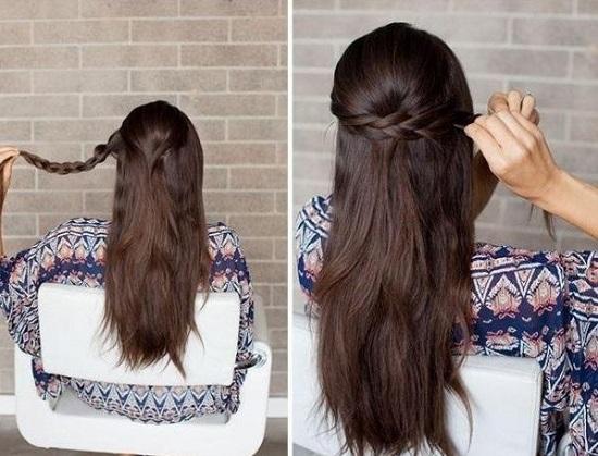 Как забрать волосы быстро и красиво