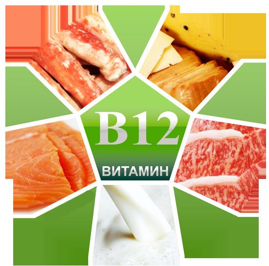 Какую работу выполняет витамин б12?