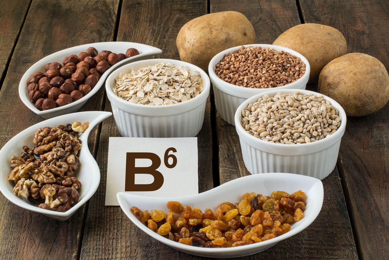 Какие продукты в максимальном количестве содержат витамин в6?
