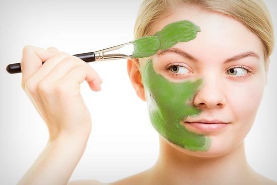 Травяная маска