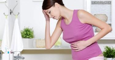 Что делать, если появились спазмы в желудке при беременности?