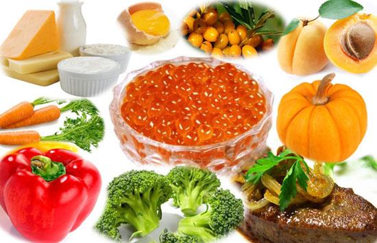Продукты с витамином а: могут ли они возместить недостаток ретинола?