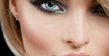 Как подобрать макияж для голубых глаз?