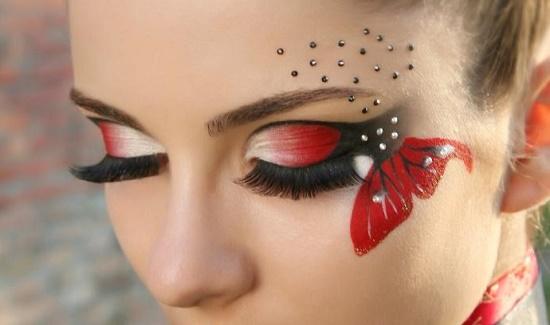 Фэнтези макияж
