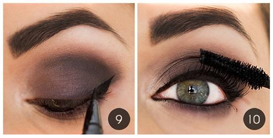 Техника макияжа для голубых глаз