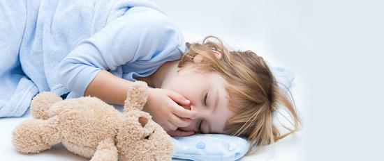 Кашель у детей при тонзиллите