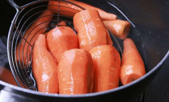Вареная морковь: польза