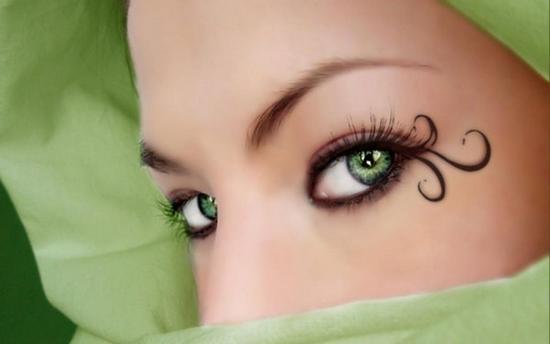 Как подобрать макияж для зеленых глаз?