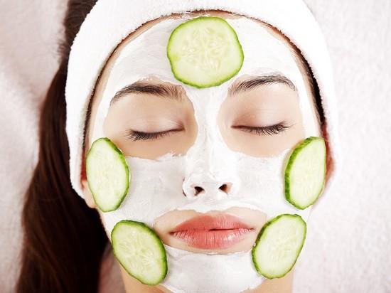 Огуречно-сметанная маска для лица