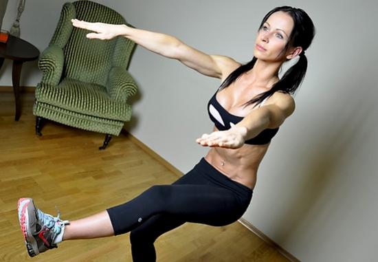 Как накачать икры с внутренней стороны ног?