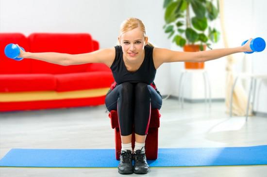 Круговая тренировка для похудения для проведения в домашних условиях