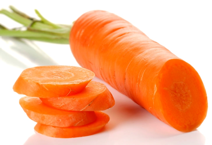 сколько калорий заключено в 1 свежей моркови