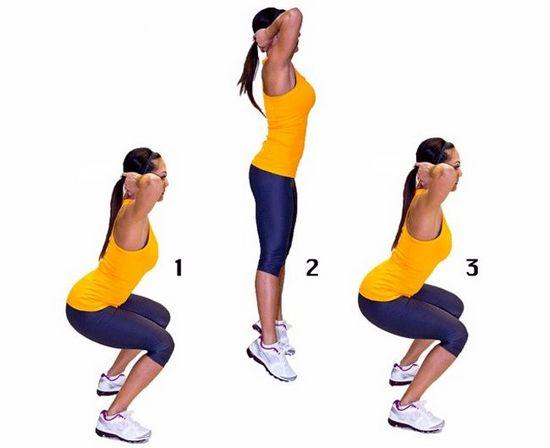 Как накачать мышцы ног и ягодиц?
