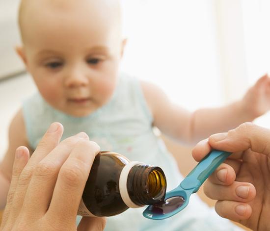 Лечение ангины у детей 1 года