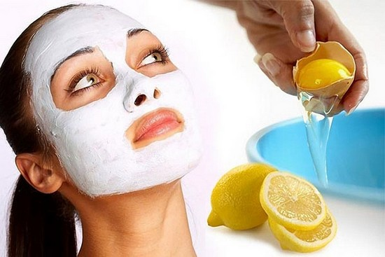 Лимонно-белковая маска питает и восстанавливает кожу лица