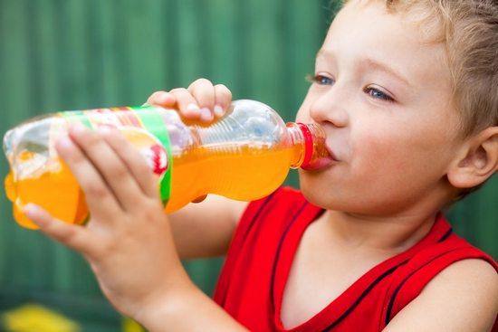 Какой вред от употребления детьми газированной воды?