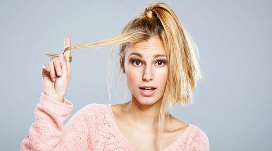 Восстановление обесцвеченных волос