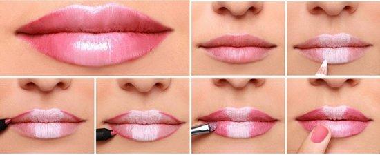 Макияж для увеличения губ: советы