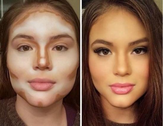 Как пользоваться палеткой при нанесении макияжа для полного лица?