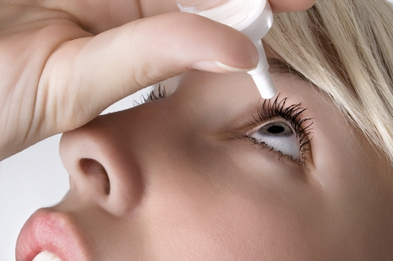 Лечение симптомов синдрома сухого глаза