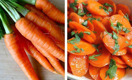 Сырая или вареная морковь
