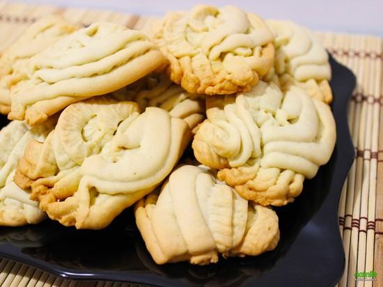песочное тесто для печенья через мясорубку
