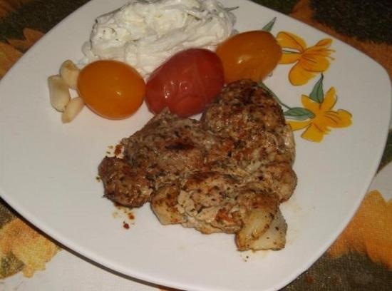 Как приготовить бифштекс из свинины