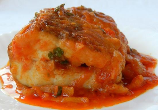 Из рыбного филе можно приготовить вкусное блюдо
