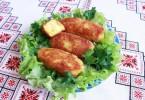 Запеченные картофельные котлеты