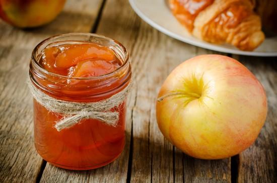 Яблочное варенье в духовке