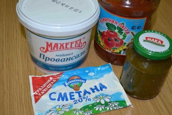 Подготовим все необходимые продукты