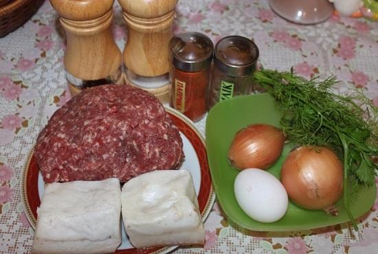 Подготовим необходимые продукты