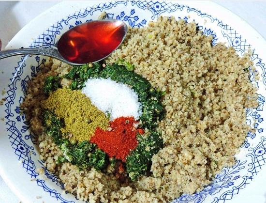 Добавляем рисовый уксус