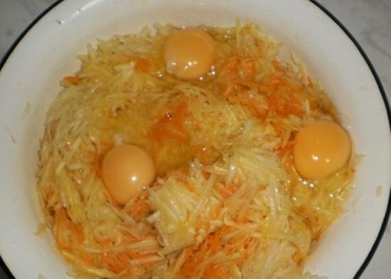 Добавим яйца