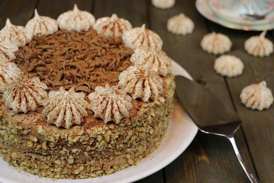 рецепт египетского торта с хрустящим наполнителем