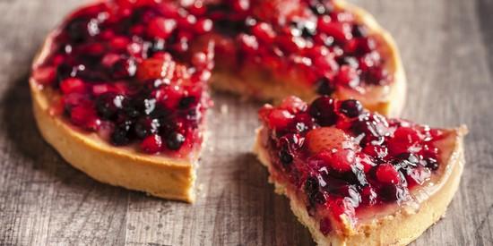 Пирог с замороженными ягодами постный: рецепты с фото простой выпечки