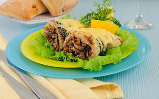 Рулет из скумбрии, запеченный в духовке: рецепты с желатином и без и фото пошагово
