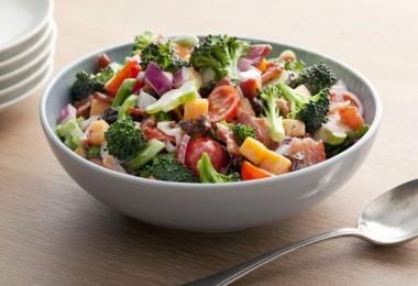 Салат из брокколи: рецепты приготовления с пошаговыми фото
